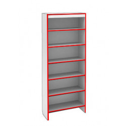Шкаф ST SH S900 STEP (кромка красная) - интернет-магазин КленМаркет.ру