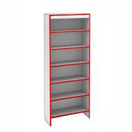Шкаф ST SH S600 STEP (кромка красная)