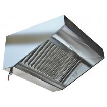 Зонт вытяжной пристенный МВО-1,0 МСВ