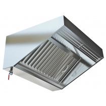 Зонт приточно-вытяжной пристенный МВО-2,5 МС-1,0 П