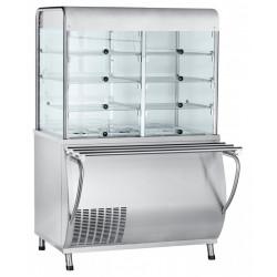 Прилавок-витрина холодильный ABAT «Патша» ПВВ(Н)-70М-С-НШ-01 - интернет-магазин КленМаркет.ру