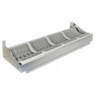 Полка настенная для сушки посуды ТЕХНО-ТТ ПН-310/1200 (на 50 тарелок)