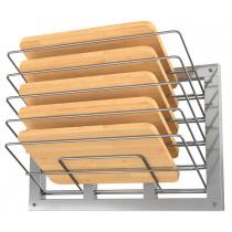 Полка настенная для досок ATESY ПКД-600К (5 секций) вертикальная