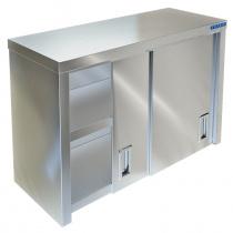 Полка-шкаф настенная закрытая ТЕХНО-ТТ ПН-424/1500 (двери-купе)
