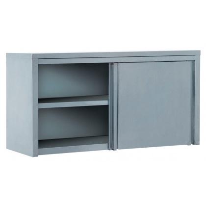 Полка-шкаф настенная закрытая ATESY ПЗК-1500 (двери-купе) - интернет-магазин КленМаркет.ру