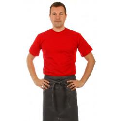 Футболка мужская красная с коротким рукавом - интернет-магазин КленМаркет.ру