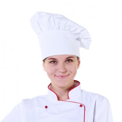 Колпак поварской белый [00401] - интернет-магазин КленМаркет.ру
