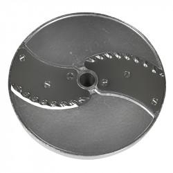 Диск слайсер 5 мм для ROBOT COUPE R502, CL50, CL50Ultra, CL52, CL55, CL60 (для фигурных ломтиков) [27070] - интернет-магазин КленМаркет.ру