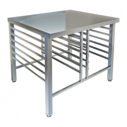 Стол-подставка под пароконвектомат СПС-128/900, открытая - интернет-магазин КленМаркет.ру