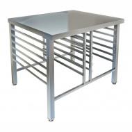 Стол-подставка под пароконвектомат СПС-128/900, открытая