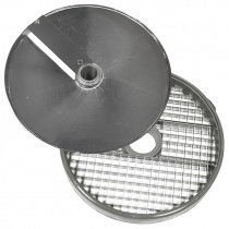 Диски (решетка+слайсер) для нарезки кубиками 14х14х14 мм для ROBOT COUPE R502, CL50, CL50Ultra, CL52, CL55, CL60