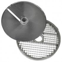 Диски (решетка+слайсер) для нарезки кубиками 10х10х10 мм для ROBOT COUPE R502, CL50, CL50Ultra, CL52, CL55, CL60