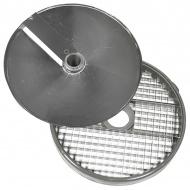 Диски (решетка+слайсер) для нарезки кубиками 8х8х8 мм для ROBOT COUPE R502, CL50, CL50Ultra, CL52, CL55, CL60