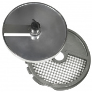 Диски (решетка+слайсер) для нарезки кубиками 10х10х10 мм для ROBOT COUPE CL30Bistro, CL40, R402