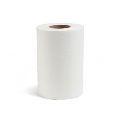 Полотенца вытяжные однослойные белые [NRB-250113] - интернет-магазин КленМаркет.ру