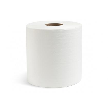 Полотенца вытяжные двухслойные белые 150 м в рулоне [NRB-250210]        - интернет-магазин КленМаркет.ру