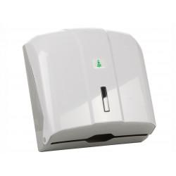 Диспенсер для листовых полотенец бело-серый [KH300] - интернет-магазин КленМаркет.ру
