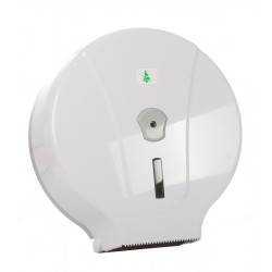 Диспенсер для туалетной бумаги бело-серый [MJ2maxi] - интернет-магазин КленМаркет.ру