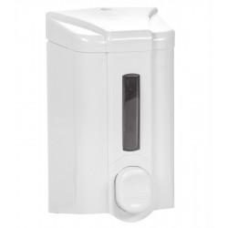Дозатор для жидкого мыла с индикатором бело-серый [S2] - интернет-магазин КленМаркет.ру
