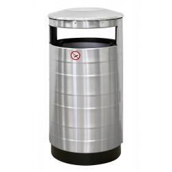 Урна для мусора уличная без пепельницы 440х800 мм [NPF AISI] - интернет-магазин КленМаркет.ру