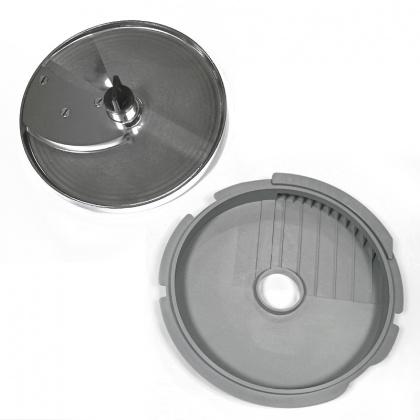 Диски (решетка+слайсер) для нарезки фри 8х8 мм для ROBOT COUPE R201E, R301Ultra, R402, CL25, CL30, CL30Bistro [27166] - интернет-магазин КленМаркет.ру