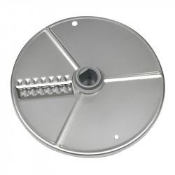 Диск слайсер 2 мм для ROBOT COUPE R201E, R301Ultra, R402, CL20, CL25, CL30, CL30Bistro (для волнистых ломтиков) [27621]  - интернет-магазин КленМаркет.ру