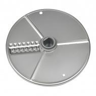Диск слайсер 2 мм для ROBOT COUPE R201E, R301Ultra, R402, CL20, CL25, CL30, CL30Bistro (для волнистых ломтиков) [27621]
