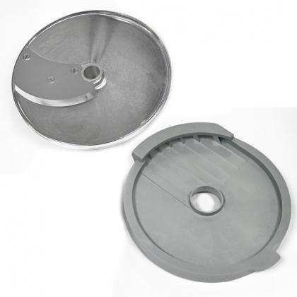 Диски (решетка+слайсер) для нарезки фри 10х16 мм для ROBOT COUPE R502, CL50, CL50Ultra, CL52, CL55, CL60 [28158] - интернет-магазин КленМаркет.ру