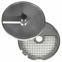 Диски (решетка+слайсер) для нарезки кубиками 12х12х12 мм для ROBOT COUPE CL25, CL30Bistro, CL40, R201, R301Ultra, R402 [27298]