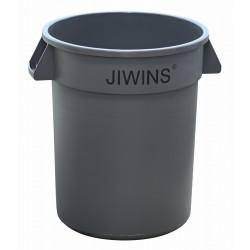 Контейнер для мусора 120 л без крышки [JW-CR120E] - интернет-магазин КленМаркет.ру