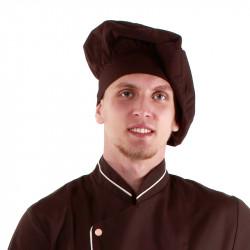 Колпак поварской коричневый [00403] - интернет-магазин КленМаркет.ру