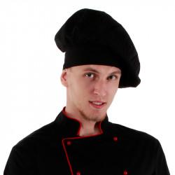 Колпак поварской черный [00403] - интернет-магазин КленМаркет.ру