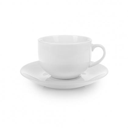 Чайная пара с круглым блюдцем «Collage» 200 мл - интернет-магазин КленМаркет.ру