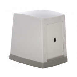 Диспенсер для салфеток 135x135x105 мм, белый [NP80] - интернет-магазин КленМаркет.ру
