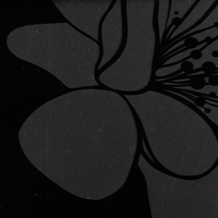 Столешница МДФ «Ночная сакура» [Р725]