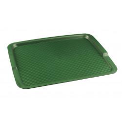 Поднос столовый из полипропилена 425х320 мм зеленый [4660011181639] - интернет-магазин КленМаркет.ру