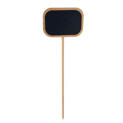 Меловая табличка 70х100 мм на деревянной палочке - интернет-магазин КленМаркет.ру