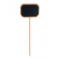 Меловая табличка 70х100 мм на деревянной палочке