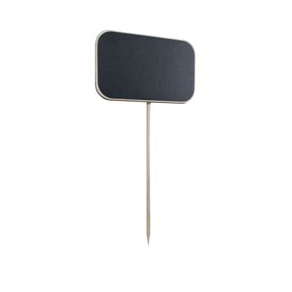 Меловая табличка 50х80 мм на деревянной палочке - интернет-магазин КленМаркет.ру