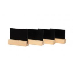 Меловая табличка А8 на деревянной подставке - интернет-магазин КленМаркет.ру