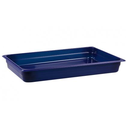 Гастроемкость из полипропилена без крышки GN 1/1 530х325x65 мм синяя [422107317] - интернет-магазин КленМаркет.ру