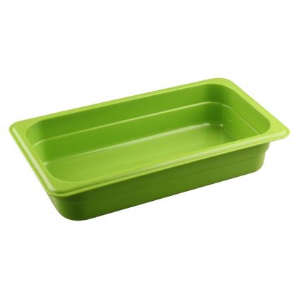 Гастроемкость из полипропилена без крышки GN 1/3 325х176х65 мм зеленая [422101009] - интернет-магазин КленМаркет.ру