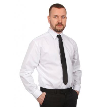 Галстук черный [7047] - интернет-магазин КленМаркет.ру