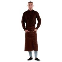 Рубашка мужская коричневая