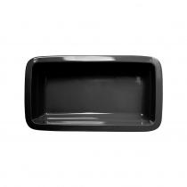 Гастроемкость керамическая «Corone» GN 1/3 328х175х60 мм черная [LQ-QK15074-K]
