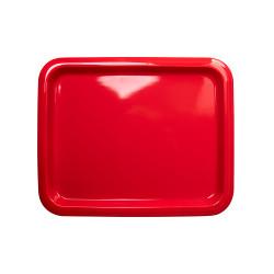 Гастроемкость керамическая «Corone» GN 1/2 330х268х20 мм красная [LQ-QK15076-186C] - интернет-магазин КленМаркет.ру