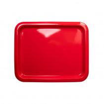 Гастроемкость керамическая «Corone» GN 1/2 330х268х20 мм красная [LQ-QK15076-186C]