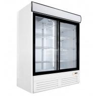 Шкаф холодильный ПРЕМЬЕР ШВУП1ТУ-1,4К (двери-купе, световое канапе)