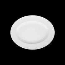 Блюдо овальное «Corone» 202х160 мм с орнаментом