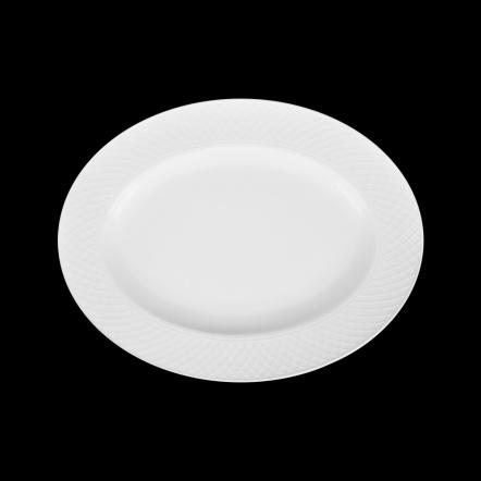 Блюдо овальное «Corone» 285х225 мм с орнаментом